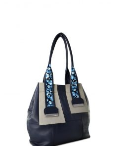 SAFARI BLUE HANDBAG