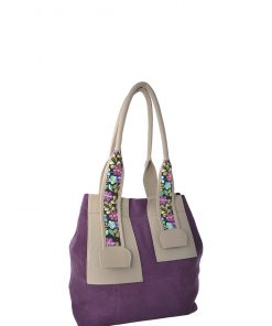 grape shoulder bag