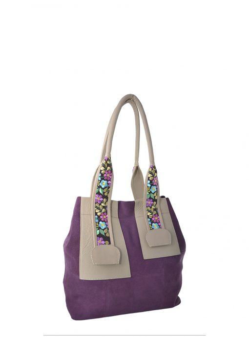 grape shoulder bag