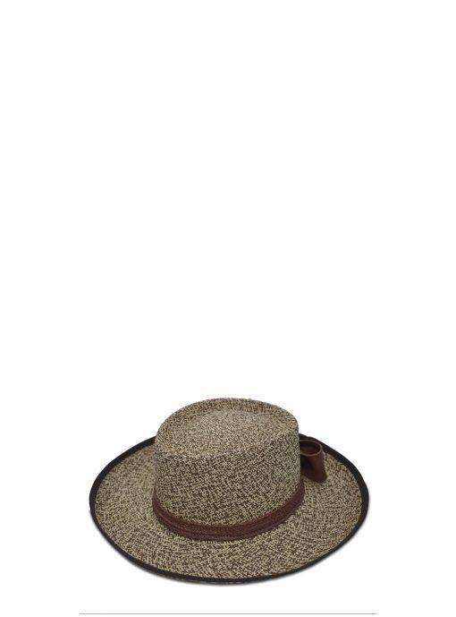 brown partridge hat