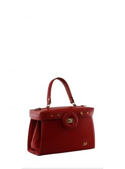 tote handbags: red dr tote