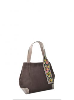 versa brown handbag