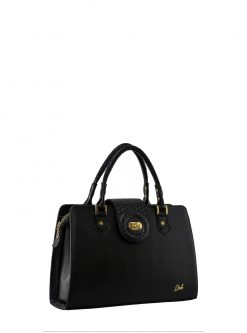 bags Store Antonela black leather handbag
