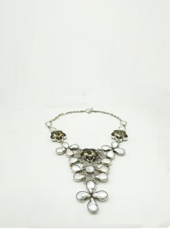 designers jewelry: calista sterling silver necklace