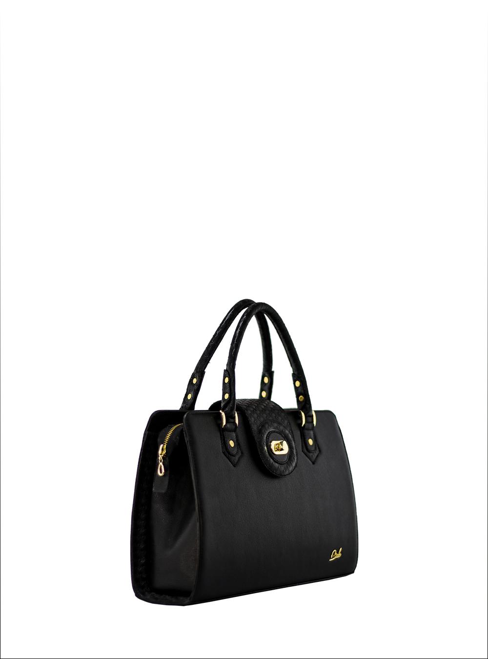 54d95cd746e6 bags Store Antonela black leather handbag · handbags  antonella  tote