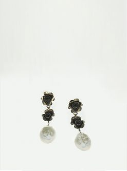 designers jewelry: ivy sterling silver earrings