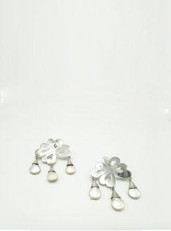Jewelry Monica sterling silver earrings