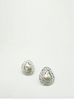 jewelry: nella sterling silver earings
