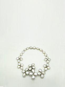Designers jewelry: penelope silver necklace
