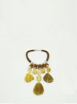 Designers Jewelry: agate necklace
