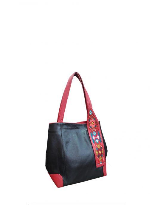 black inspira shoulder handbag