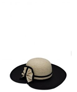 coco straw hat butterfly