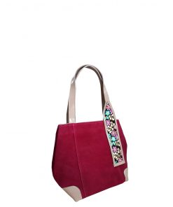 fucchia inspira shoulder handbag