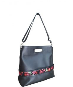 caprice multipurpose leather handbag