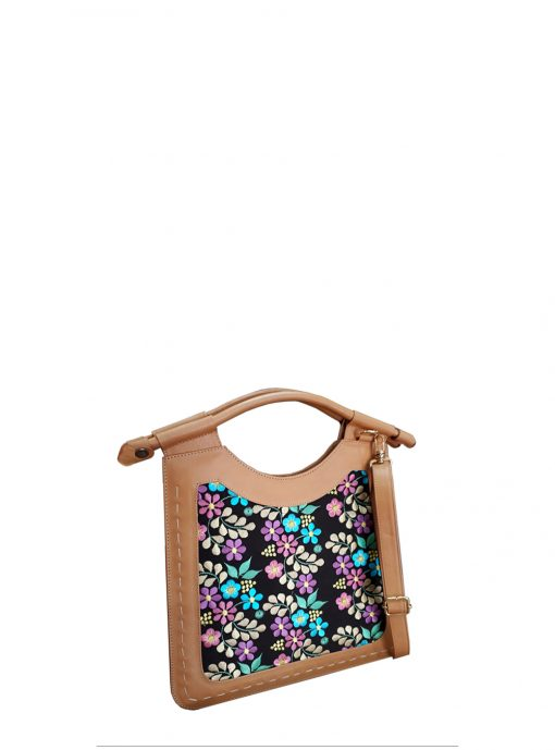 tanned cabestro leather tote