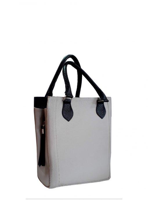 Daisy white handbag 1