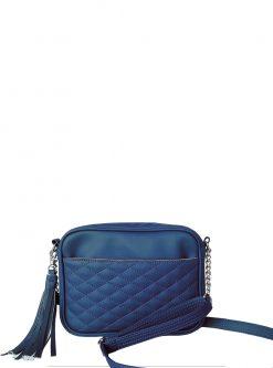 blue lit handbags