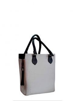 white leather handbags - Daisy