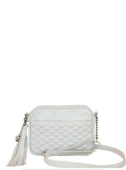 white crossbody handbags