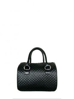 black barrel handbag 2