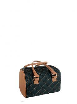 black brown barril handbag 2