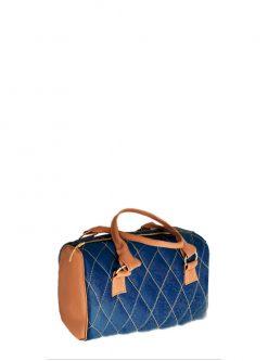 brown blue barrel vegan bag2