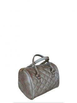 silver barrel purse